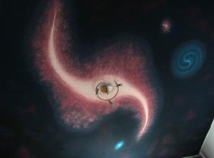 Die Ankunft der kleinen Sterne in der großen Galaxie